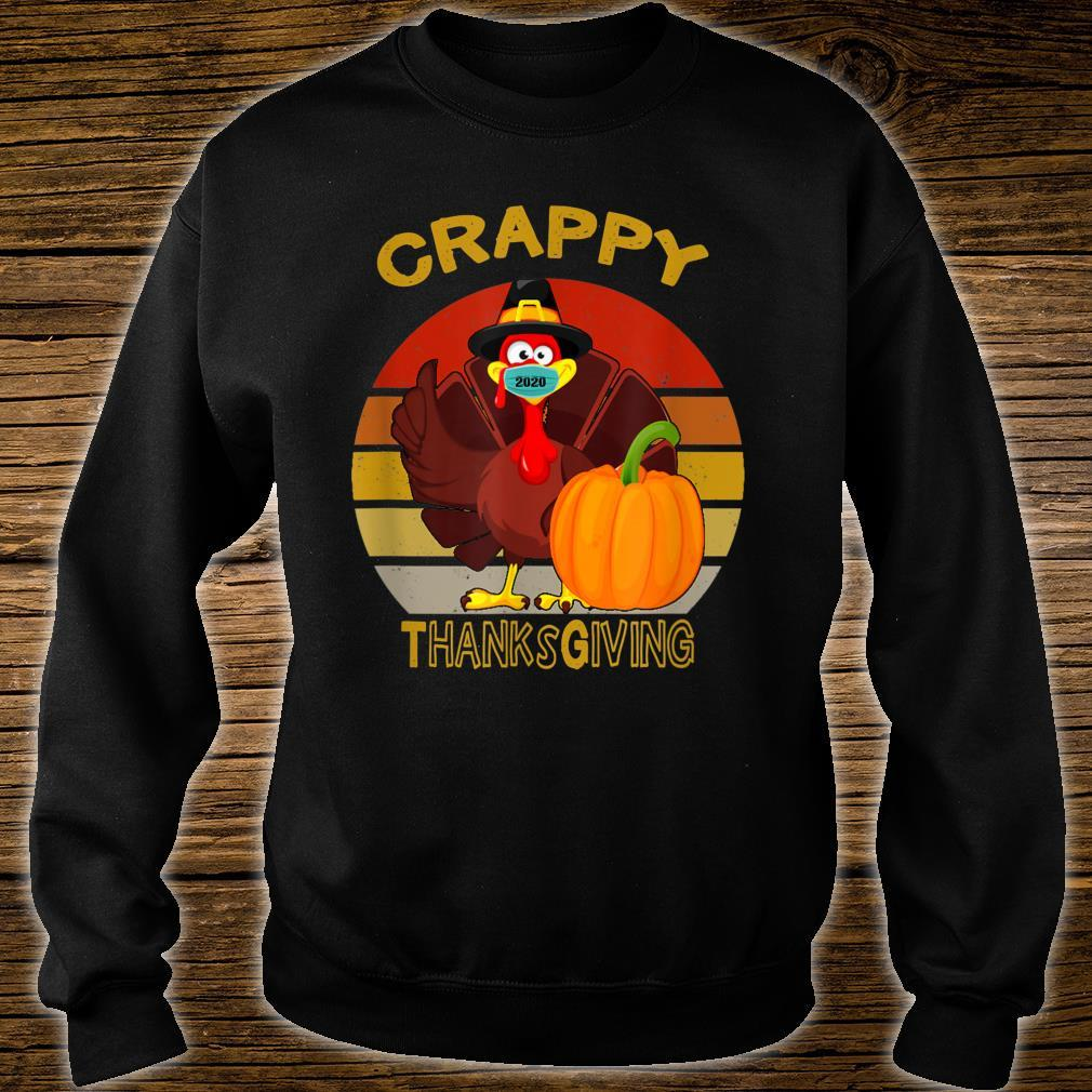 Silly Turkey Face Wearing A Mask Thanksgiving 2020 Shirt sweater