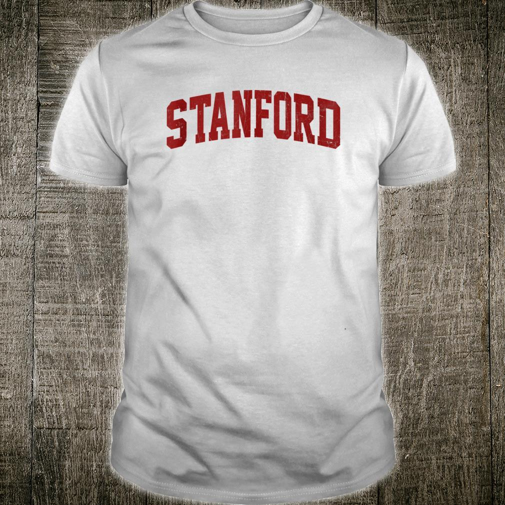 Stanford CA Athletic University & College Style Shirt