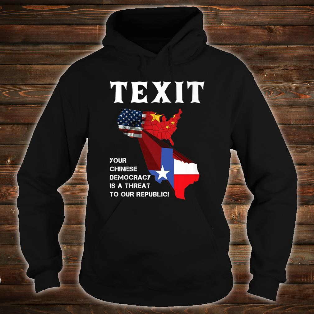 TEXIT Texas Independence Shirt hoodie