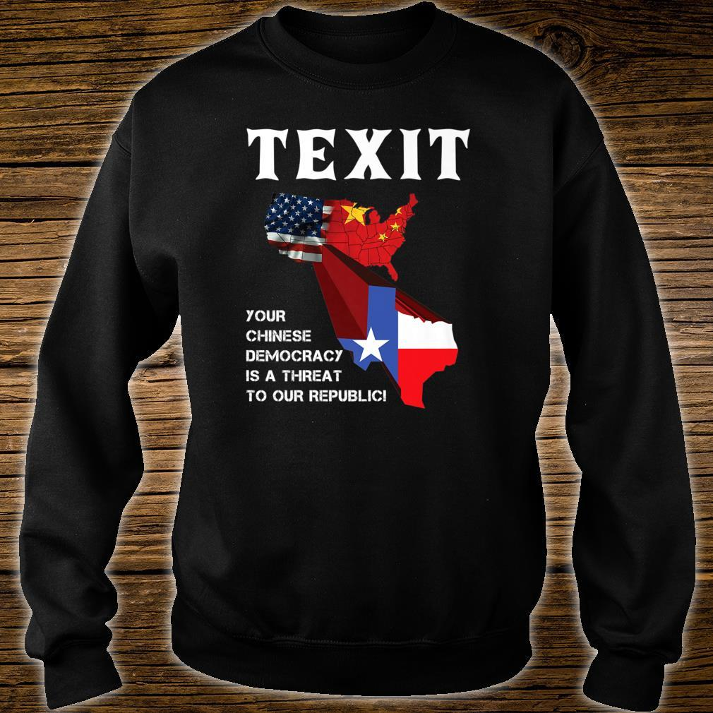 TEXIT Texas Independence Shirt sweater