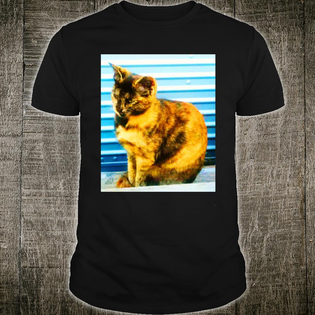 THE ALLEY CAT MARBLE color photo Shirt