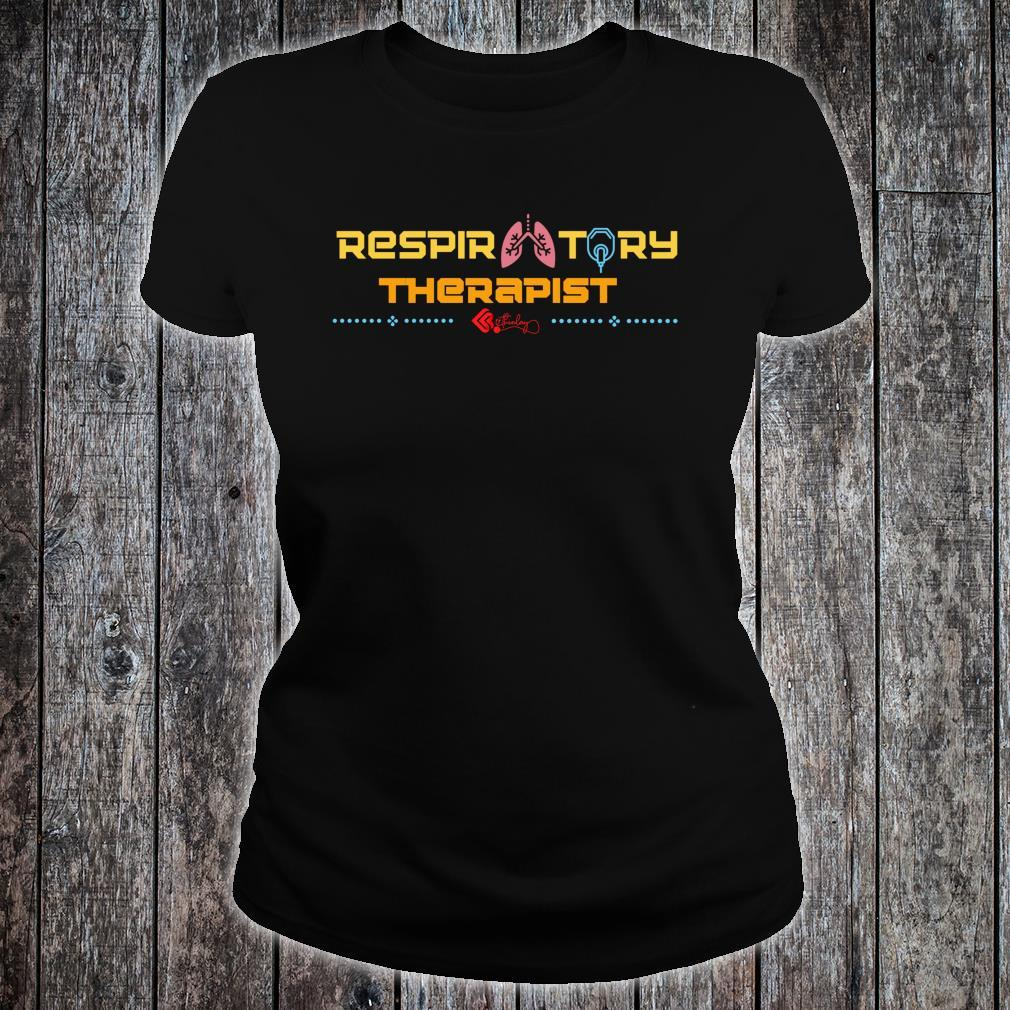 The Official Respiratory Therapist RT Shirt ladies tee