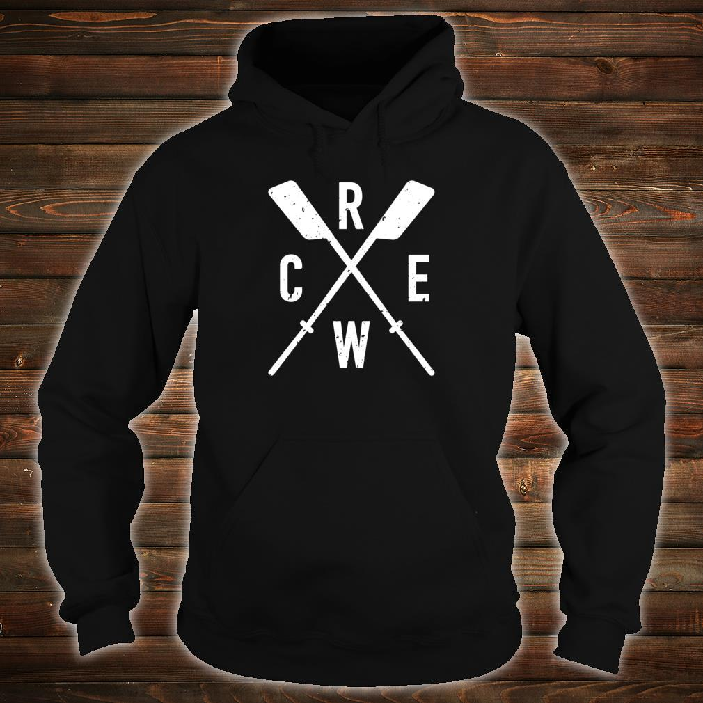 The Sport of Rowing Iconic rowing crew for boat rowers Shirt hoodie