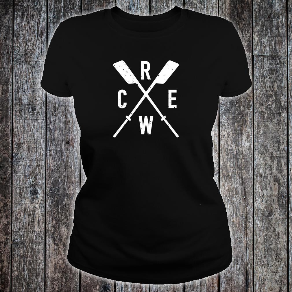 The Sport of Rowing Iconic rowing crew for boat rowers Shirt ladies tee