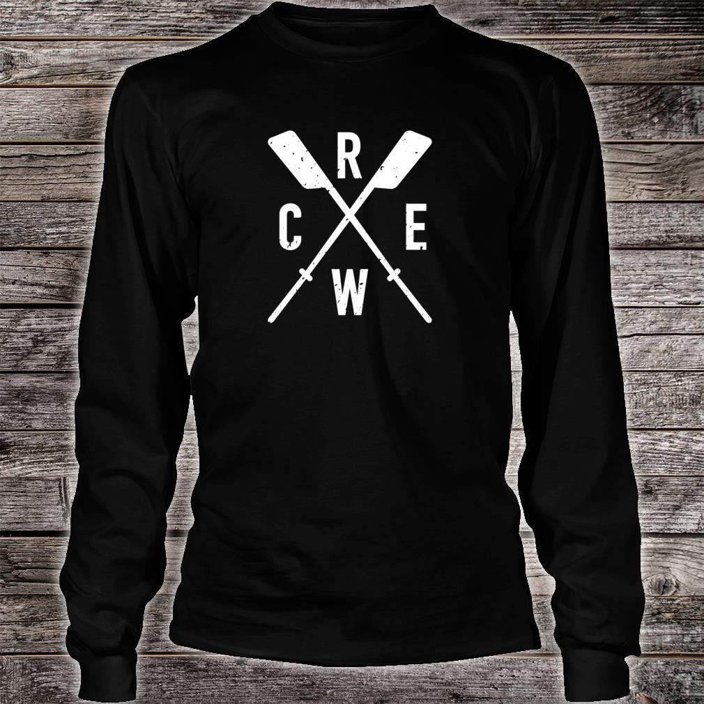 The Sport of Rowing Iconic rowing crew for boat rowers Shirt long sleeved