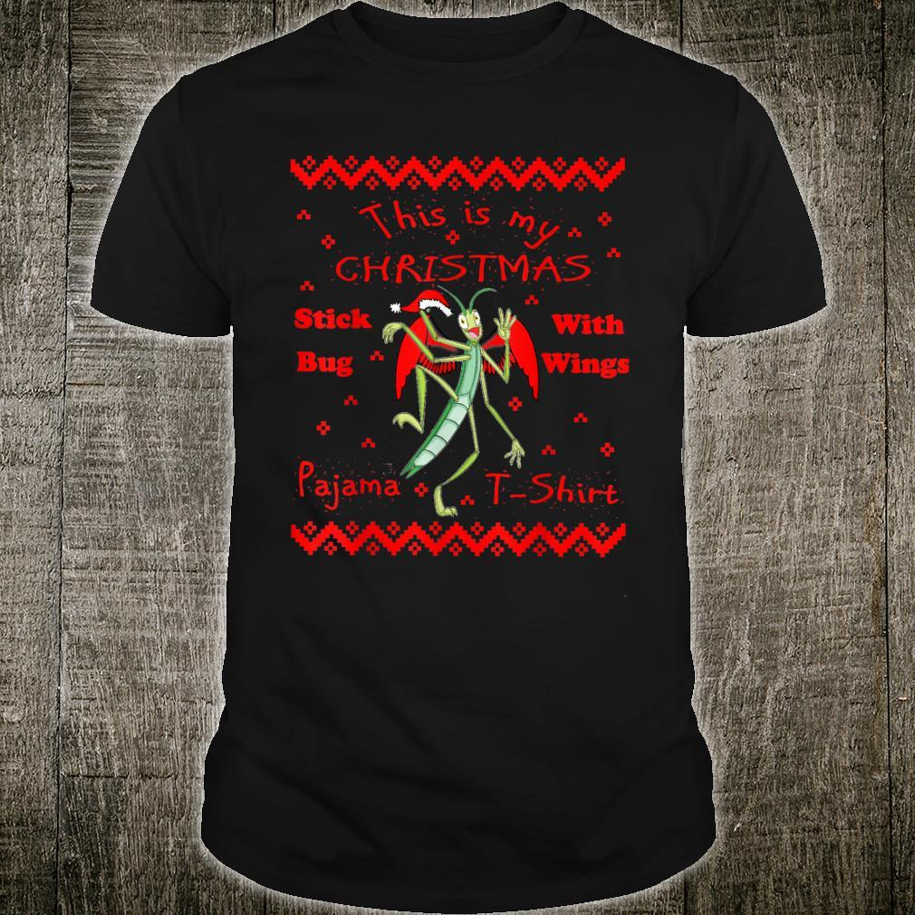 This is My Christmas Stick Bug Pajama Shirt