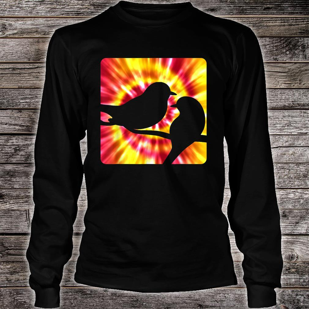 Tie Dye Robin for Robins Shirt long sleeved