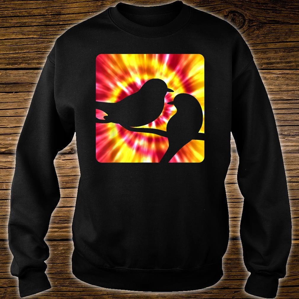 Tie Dye Robin for Robins Shirt sweater