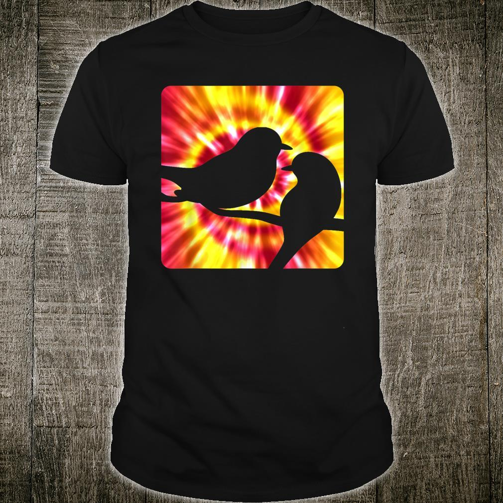 Tie Dye Robin for Robins Shirt