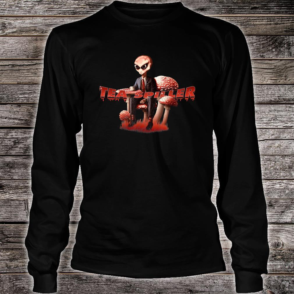 UFO Alien Paranormal Shirt long sleeved