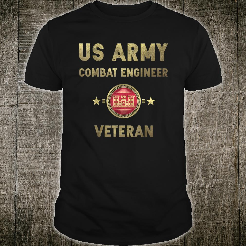 US Army Combat Engineer Army Corps of Engineers Shirt