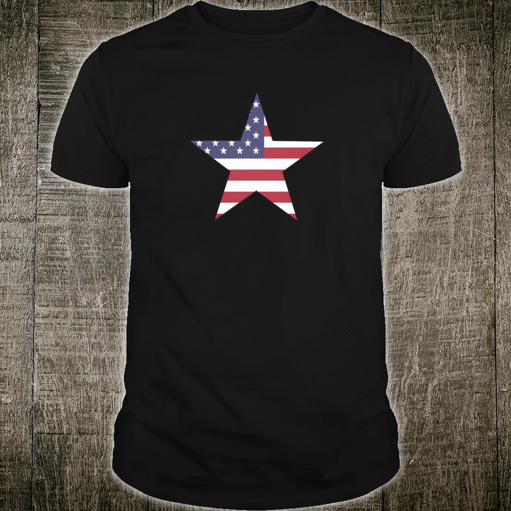 USA Flag Star Shirt