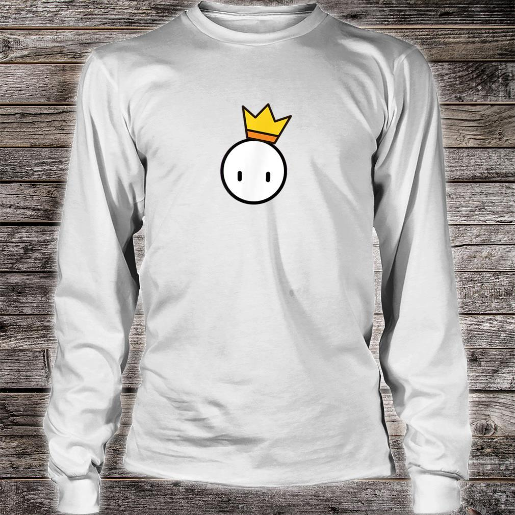 Ultimate #1 Video Game Fall Winner Crown Guys Shirt long sleeved