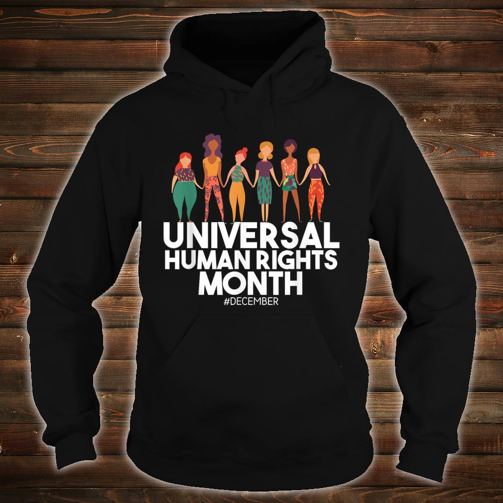 Universal And Empowered Human Rights Art Shirt hoodie