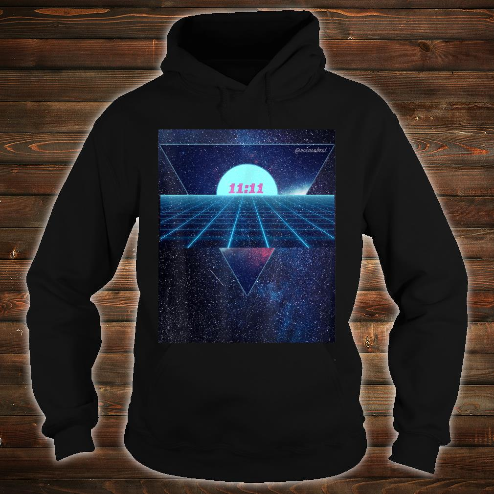 Vaporwave 1111 Into The Abyss Space EDM PLUR Vibe Dreams Shirt hoodie