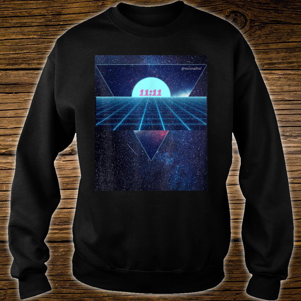 Vaporwave 1111 Into The Abyss Space EDM PLUR Vibe Dreams Shirt sweater