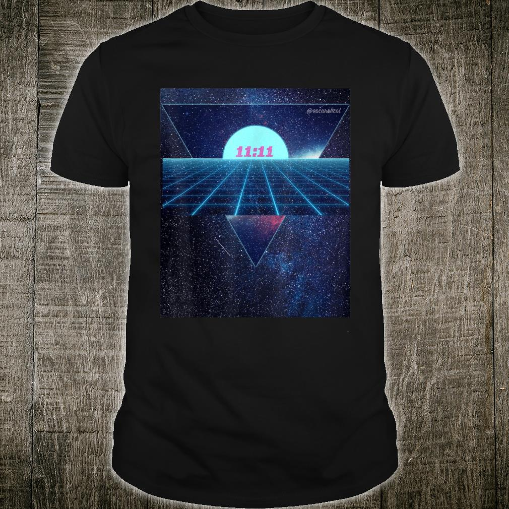 Vaporwave 1111 Into The Abyss Space EDM PLUR Vibe Dreams Shirt