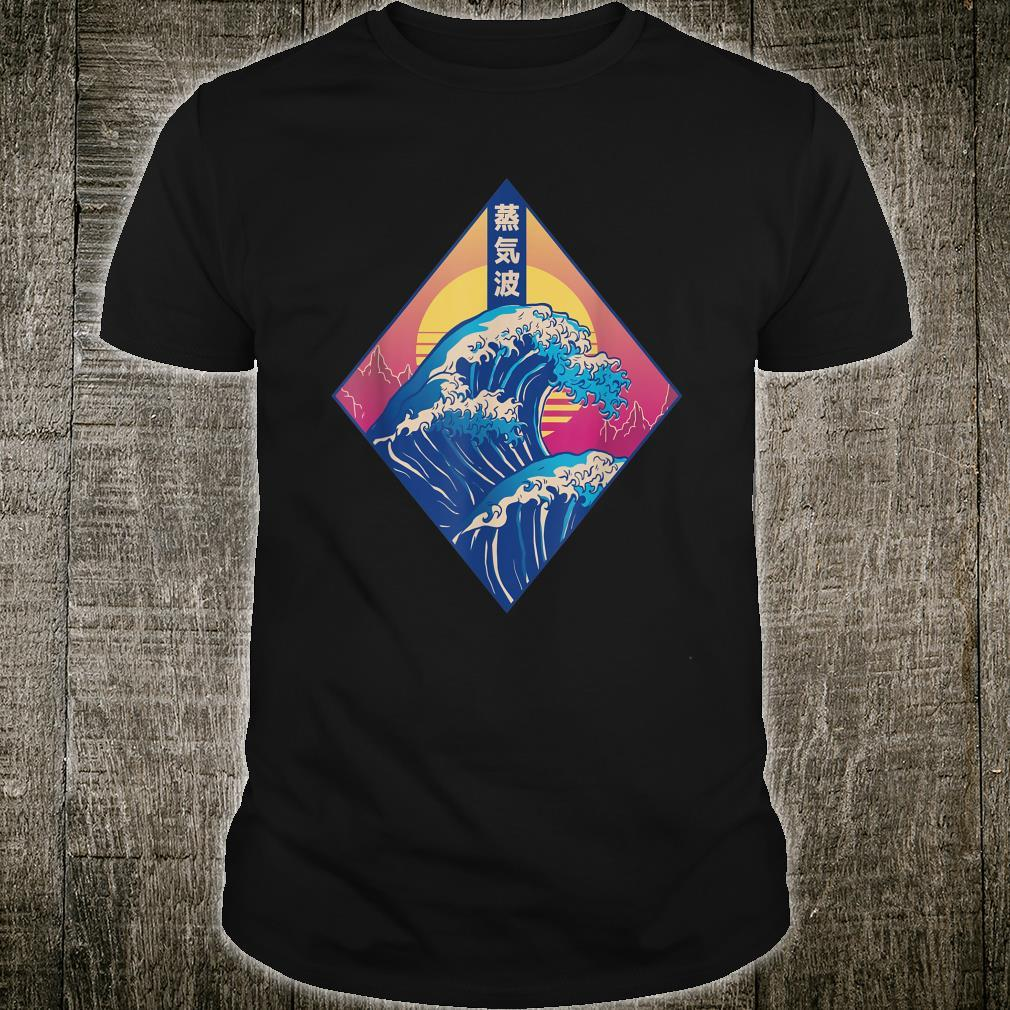 Vaporwave 80´s Retrowave Music Outfit 90s Aesthetic Shirt
