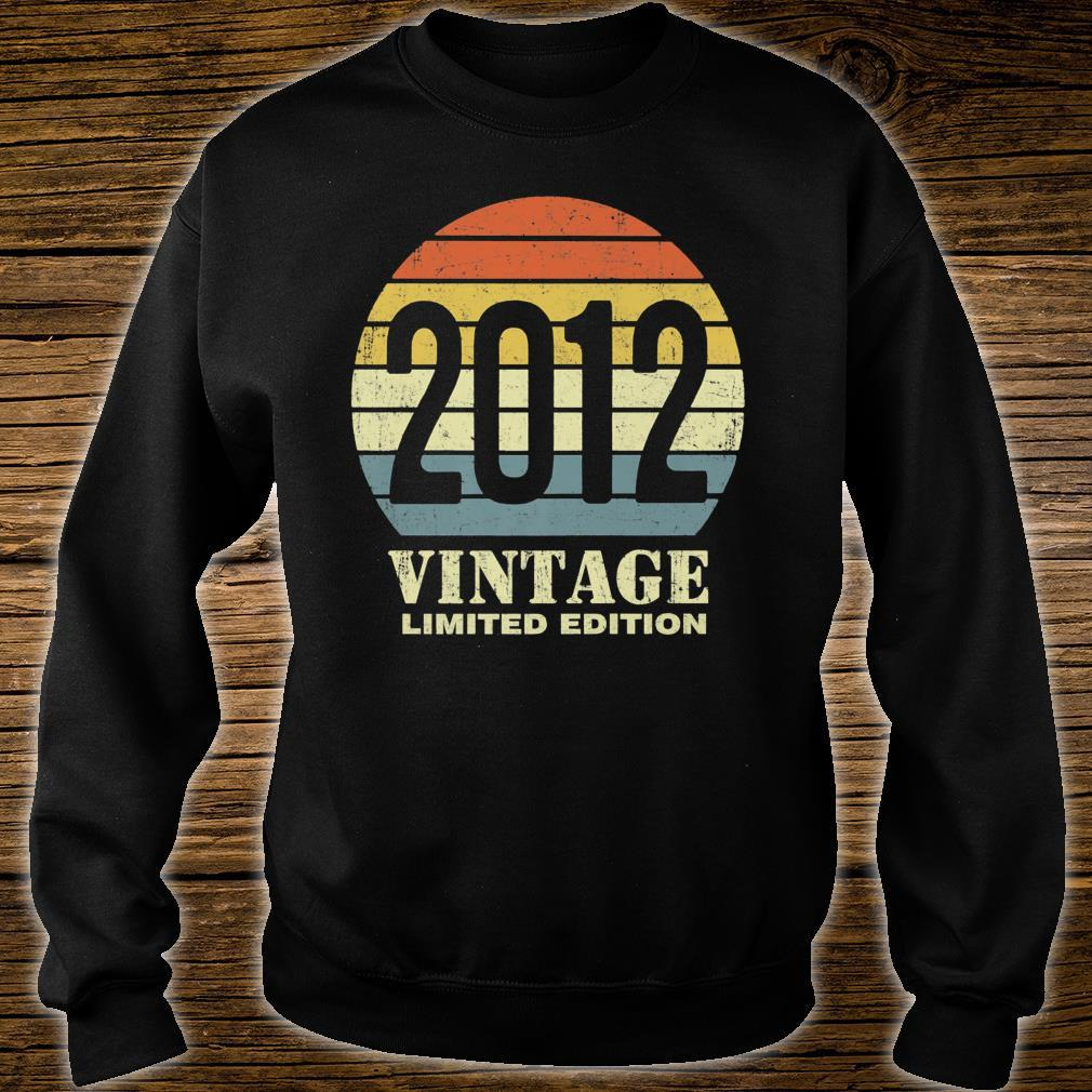 Vintage 2012 Limited Edition 9th Birthday Shirt sweater