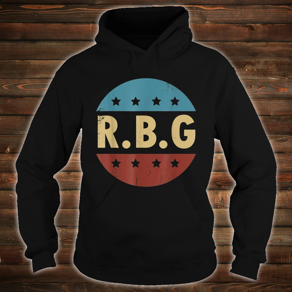 Vintage Notorious RBG For Ruth Bader Ginsburg Fan Shirt hoodie