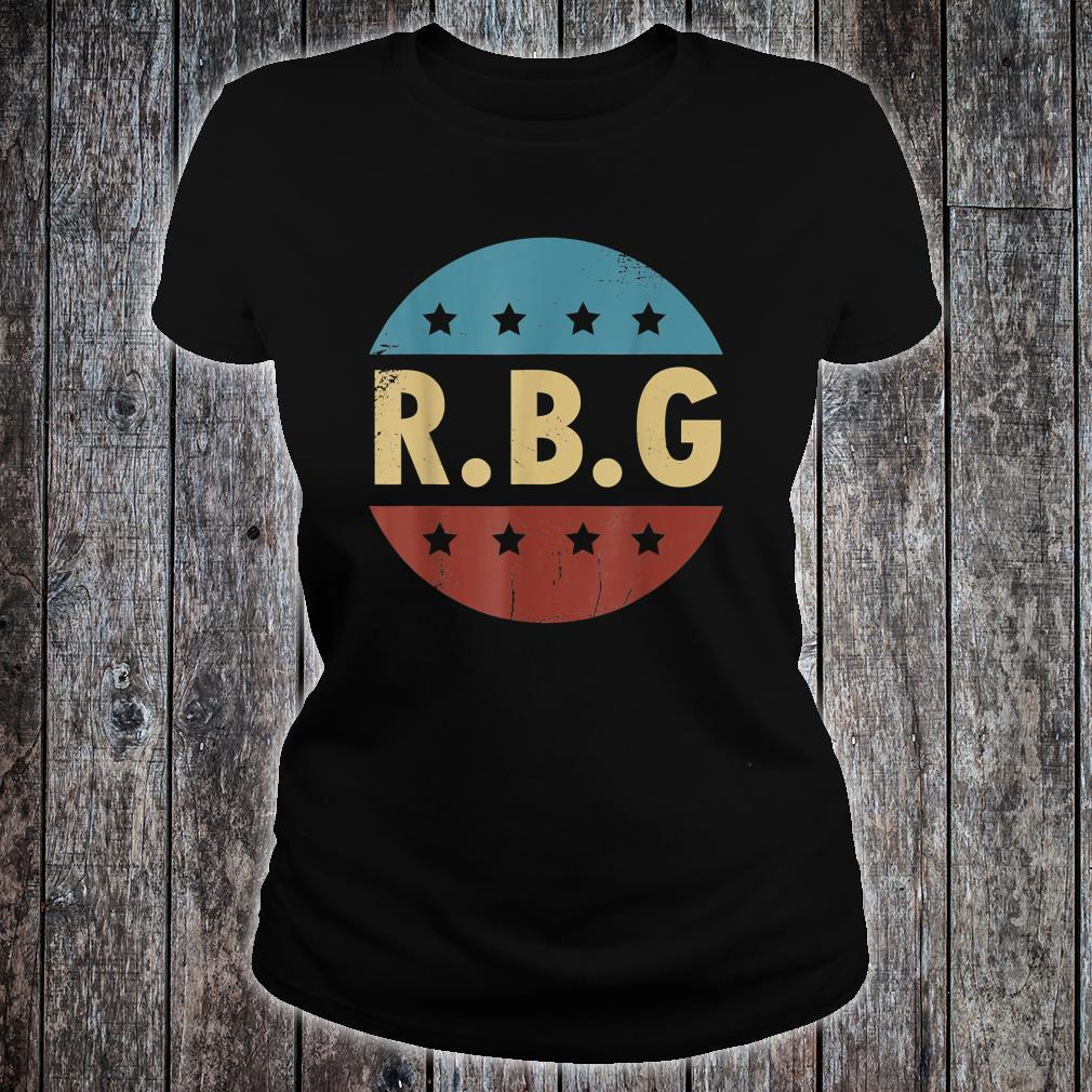 Vintage Notorious RBG For Ruth Bader Ginsburg Fan Shirt ladies tee