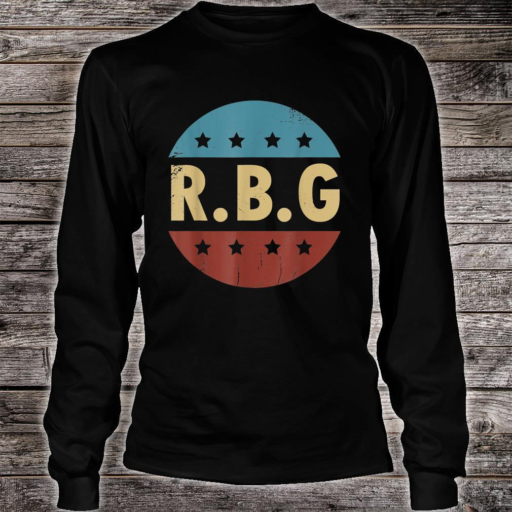 Vintage Notorious RBG For Ruth Bader Ginsburg Fan Shirt long sleeved