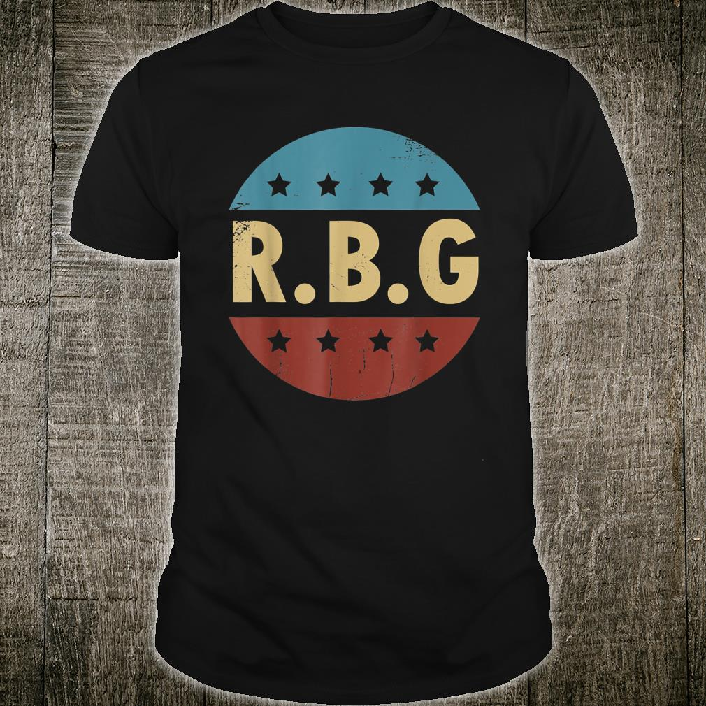 Vintage Notorious RBG For Ruth Bader Ginsburg Fan Shirt