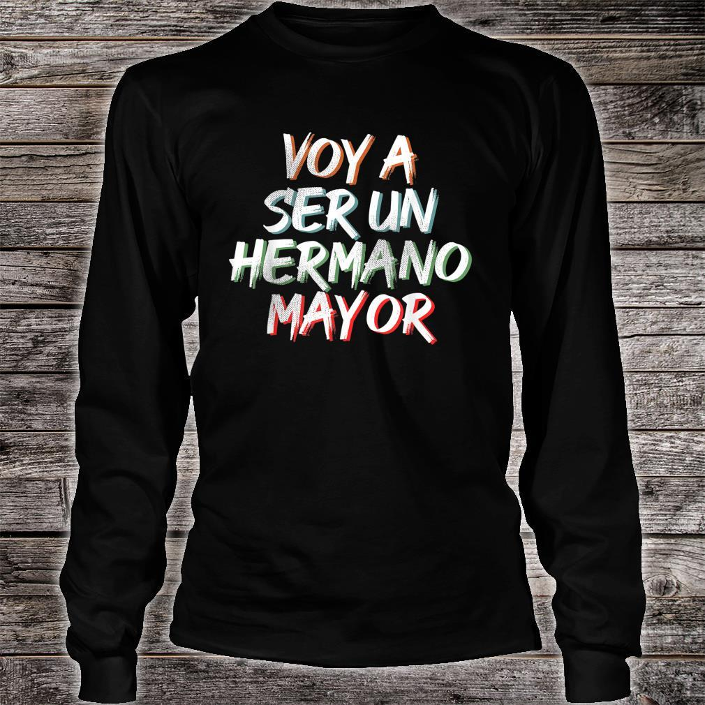Voy a ser un Hermano Mayor Shirt long sleeved