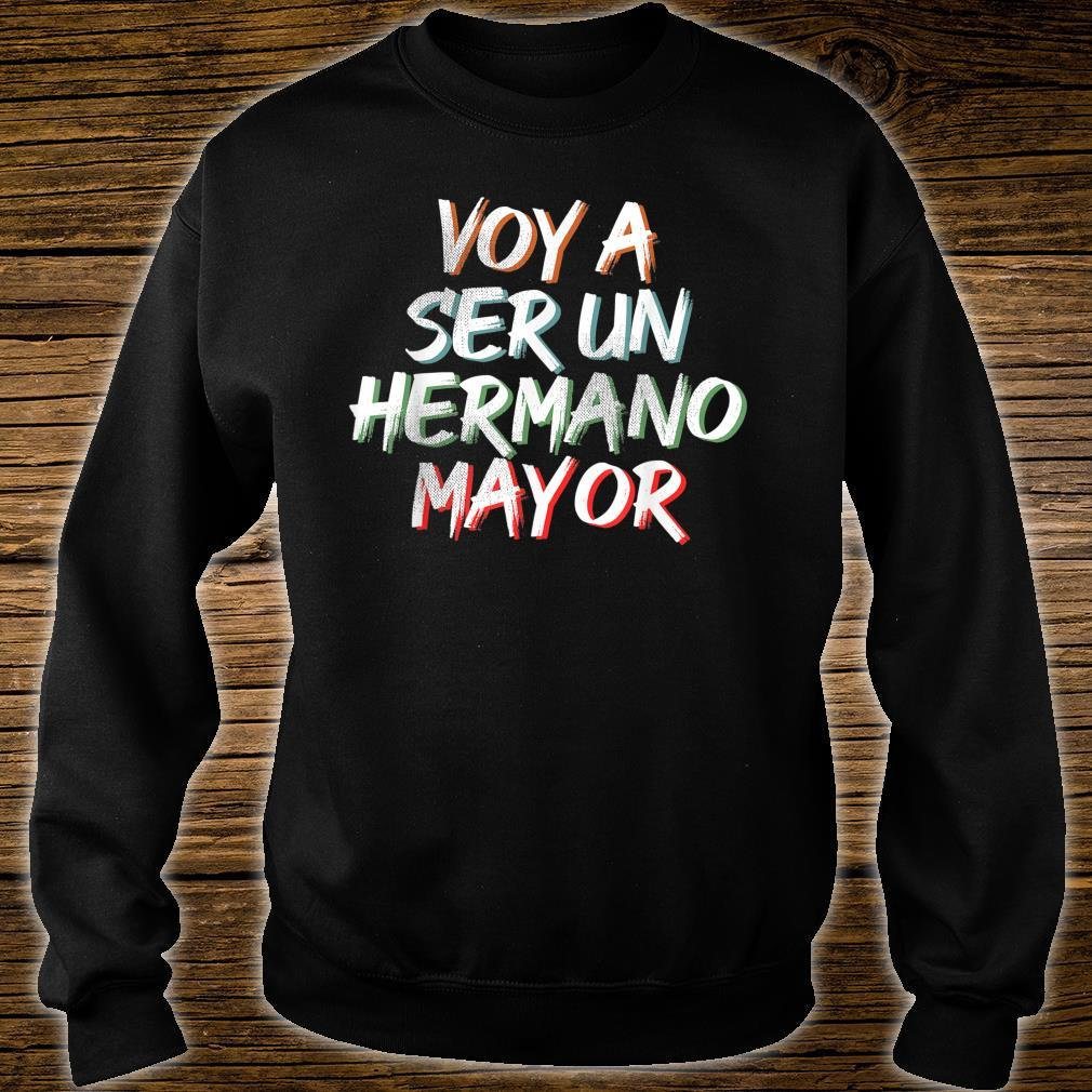 Voy a ser un Hermano Mayor Shirt sweater