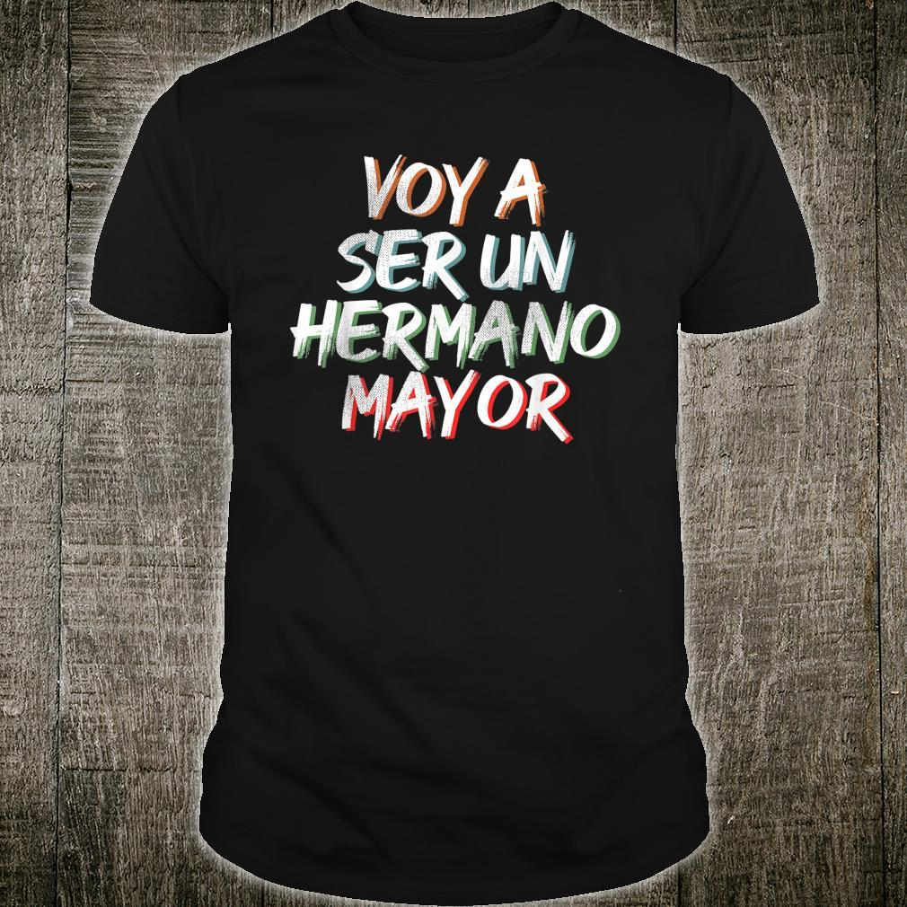Voy a ser un Hermano Mayor Shirt