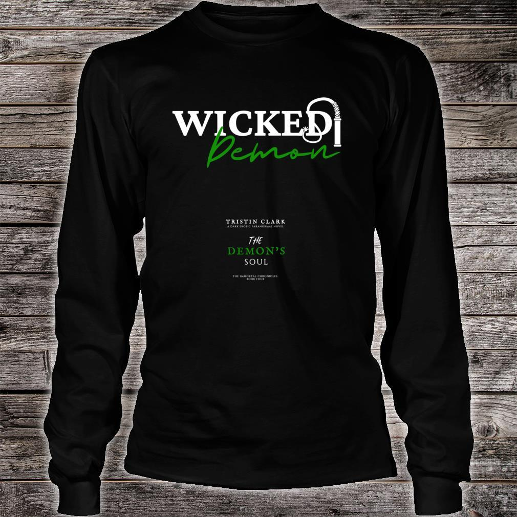Wicked Demon Shirt long sleeved
