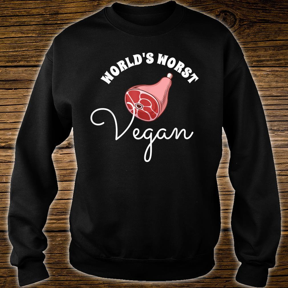 World's Worst Vegan Grilling Grill Master Shirt sweater