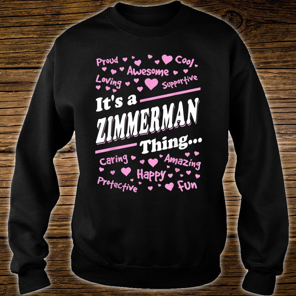 Zimmerman Surname last name Family It's a Zimmerman thing Shirt sweater